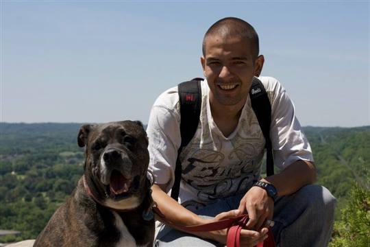 PackLeader - Webster Falls with my Dog