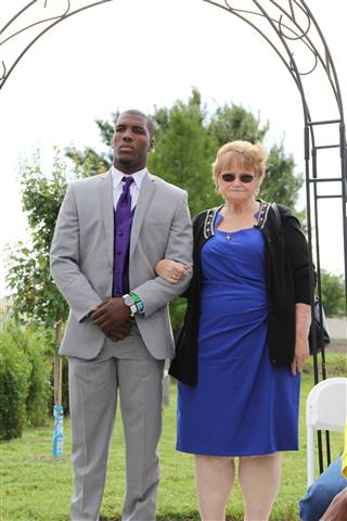 foxzy - me at granddaughters wedding