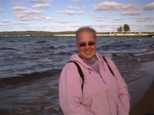 DaisyC - Me at West Arm of Grand Traverse Bay