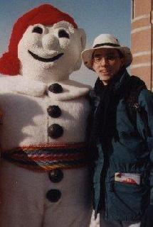 Looking4funwu - vacationing in Quebec with Bonhomme