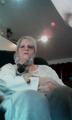 sweetshar - holding my dog Muttly