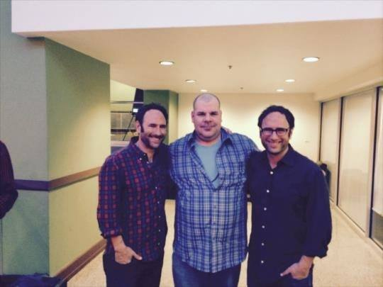 StoneHammer - Saw the Sklar brothers perform on my bday...